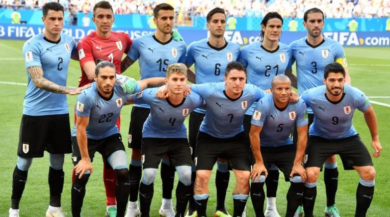 Selección uruguaya de fútbol en el mundial de Rusia