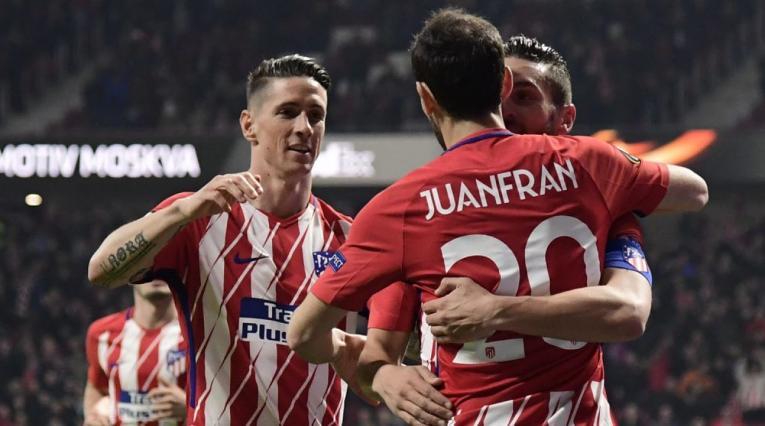 Fernando Torres, Juanfran y 'Koke'
