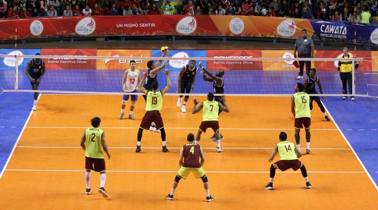 Juegos Suramericanos, Cochabamba 2018, voleibol masculino