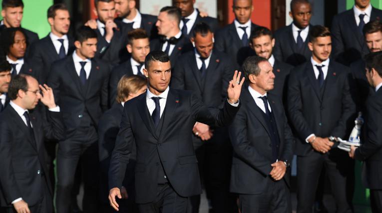 Cristiano Ronaldo y la Selección de Portugal llegaron a Rusia