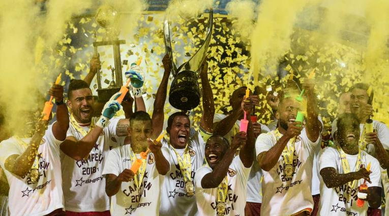 Deportes Tolima alza el título como campeón de la Liga Águila