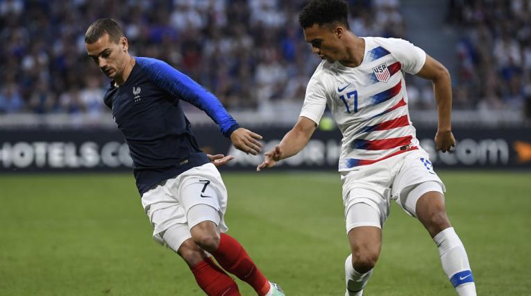 Francia Vs Estados Unidos en partido amistoso previo a la Copa Mundo Rusia 2018
