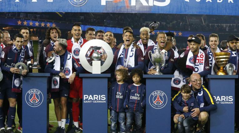 PSG campeón de la Ligue 1 2017-18