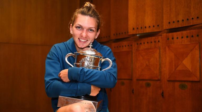 Simona Halep, ganadora de Roland Garros 2018