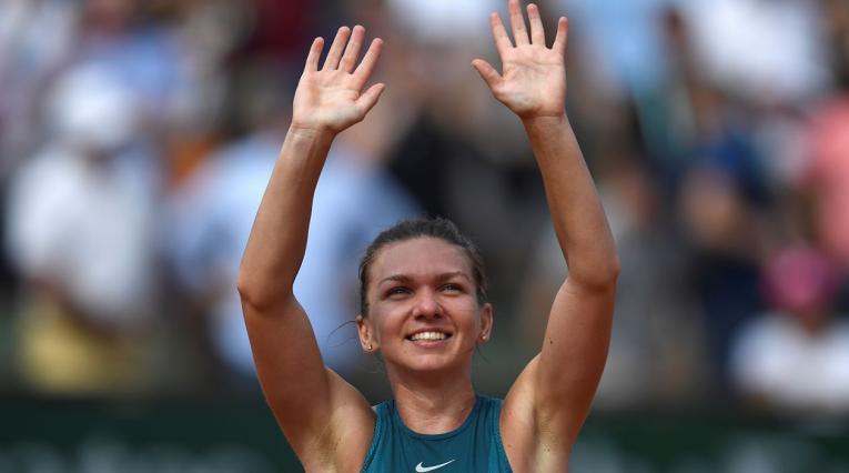 Simona Halep, actual número 1 de la WTA