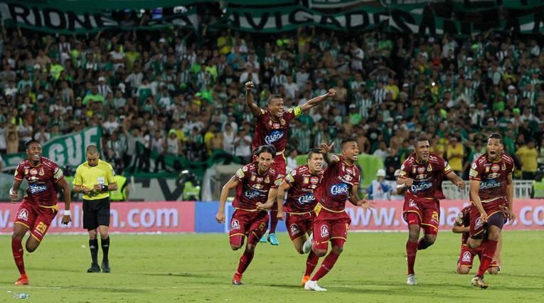 Deportes Tolima se impuso a Atlético Nacional en los penales