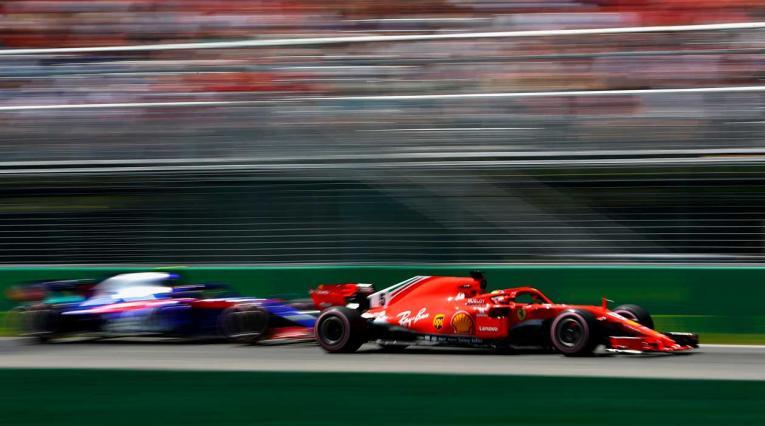 Sebastian Vettel en el Gran Premio de Canadá