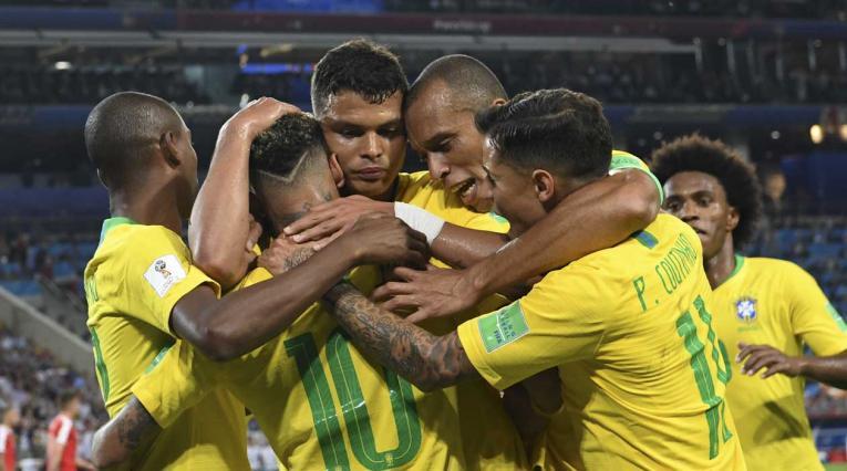 Brasil juega contra Serbia en el último partido del Grupo E del Mundial de Rusia