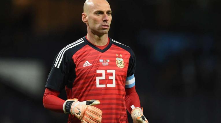 Caballero tuvo una floja participación con Argentina ante Croacia