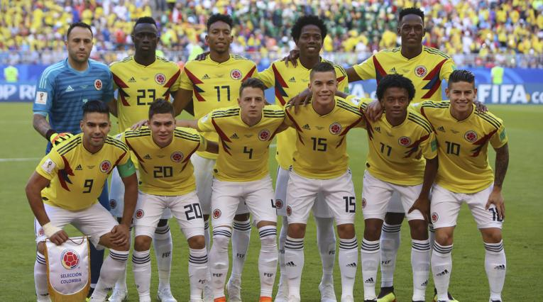 Equipo de la Selección Colombia