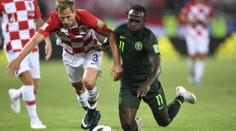 Nigeria perdió en su debut ante Croacia