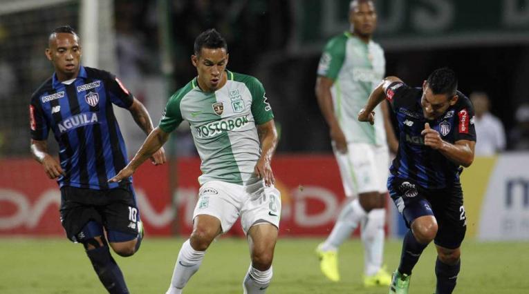 Diego Arias jugando para Atlético Nacional