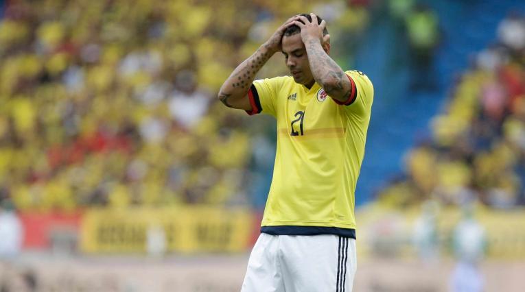Edwin Cardona, volante del Boca que quedó fuera del Mundial Rusia 2018