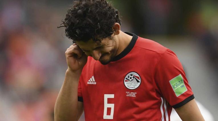 Egipto cayó en el debut de Rusia ante Uruguay