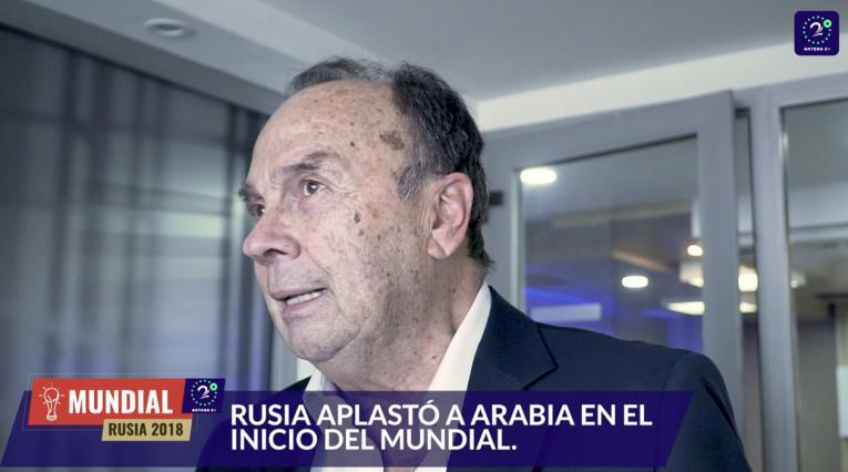 Hernán Peláez y su comentario tras la inauguración del Mundial