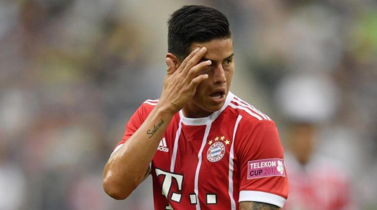 James Rodríguez fue el mejor jugador del Bayern Múnich en la temporada pasada