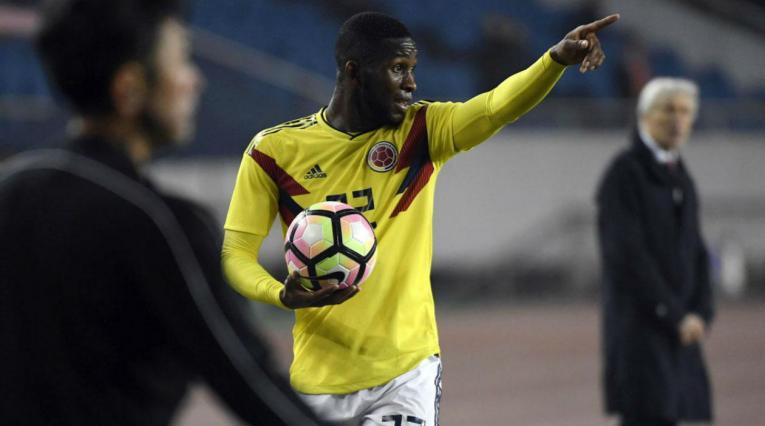Jefferson Lerma, jugador de la Selección Colombia