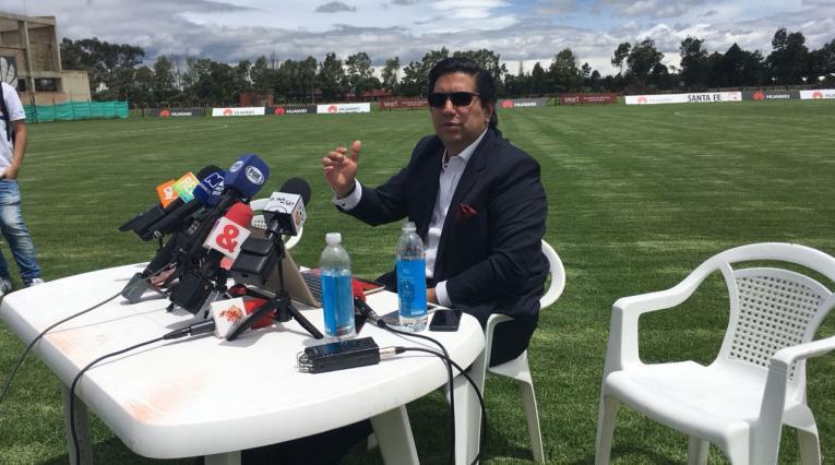 El presidente de Santa Fe, Juan Andrés Carreño, anunció la llegada de Guillermo Sanguinetti como nuevo técnico de Santa Fe.