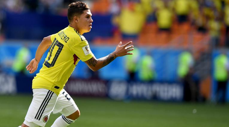 Juan Fernando Quintero sigue recibiendo elogios por su gol ante Japón