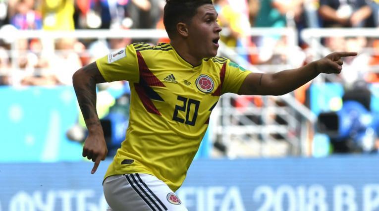 Juan Fernando Quintero, el único colombiano en anotar en dos mundiales