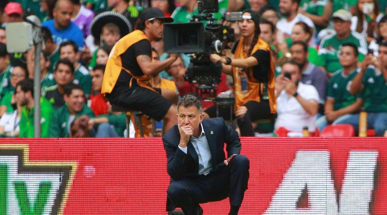 Juan Carlos Osorio, técnico de la Selección de México