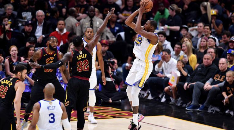 Kevin Durant, basquebolista de los Golden State Warriors