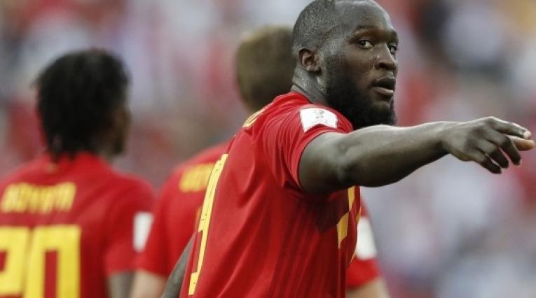 Jugador belga Romelu Lukaku