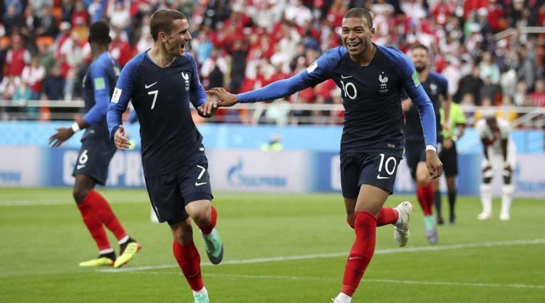 Kylian Mbappé marcó el gol del triunfo para Francia ante Perú
