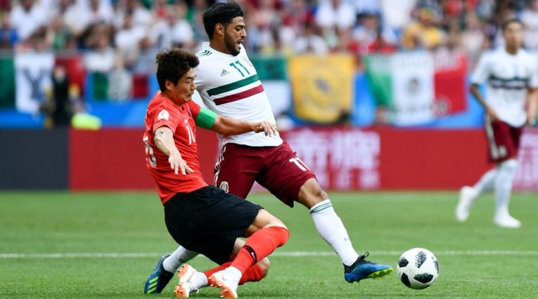México venció a Corea y sueña en Rusia 2018