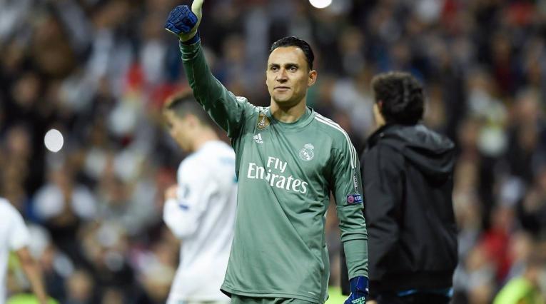Keylor Navas sigue siendo el titular en Real Madrid