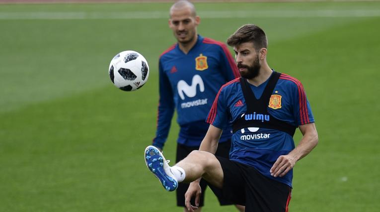 Piqué confirmó su salida de la Selección de España tras el final del Mundial