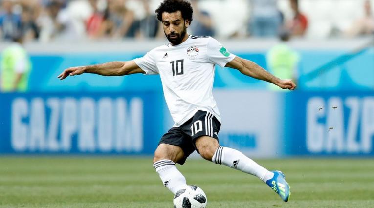 Mohamed Salah anotó en la derrota de Egipto ante Arabia Saudita