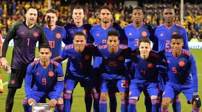 Selección Colombia vs Australia