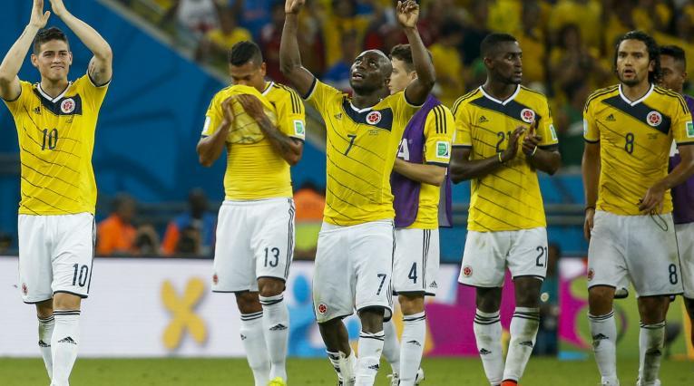 La Selección Colombia en Brasil 2014