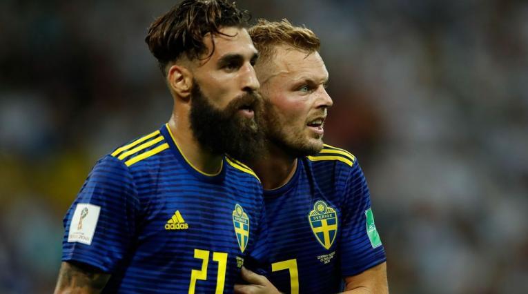 Jimmy Durmaz Suecia Rusia 2018