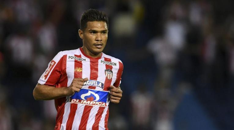 Teófilo Gutiérrez, delantero Junior de Barranquilla