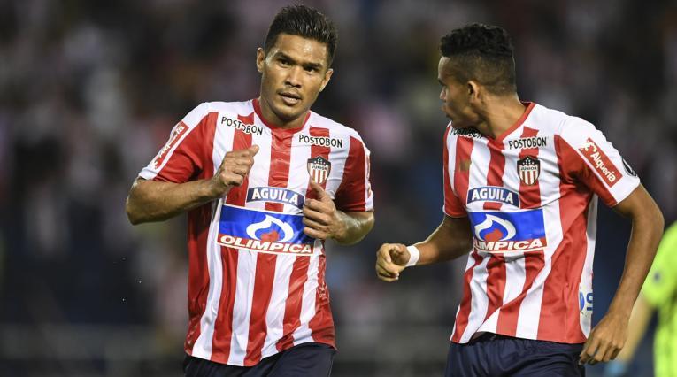 Teófilo Gutiérrez y el 'Guajiro' Díaz