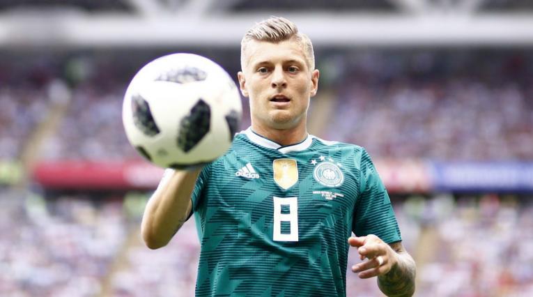 Toni Kroos Alemania Corea Rusia 2018