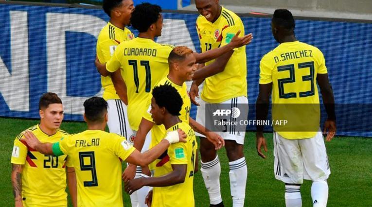 Selección Colombia en el Mundial de Rusia 2018