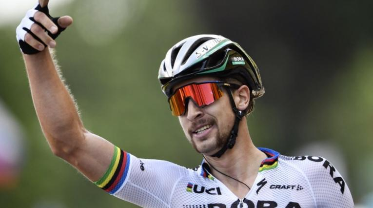 Corredor del Bora Peter Sagan en el Tour de Francia 2018