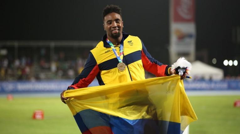 Mauricio Ortega obtuvo oro en el lanzamiento de disco de los Centroamericanos 2018