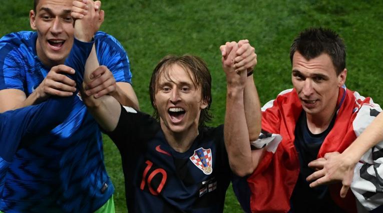 Croacia alcanzó la final de Rusia 2018 al vencer a Inglaterra