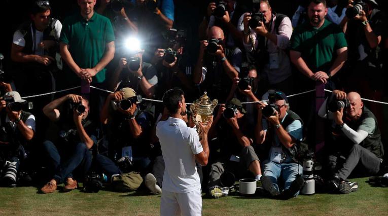 Novak Djokovic, campeón del torneo de Wimbledon 2018
