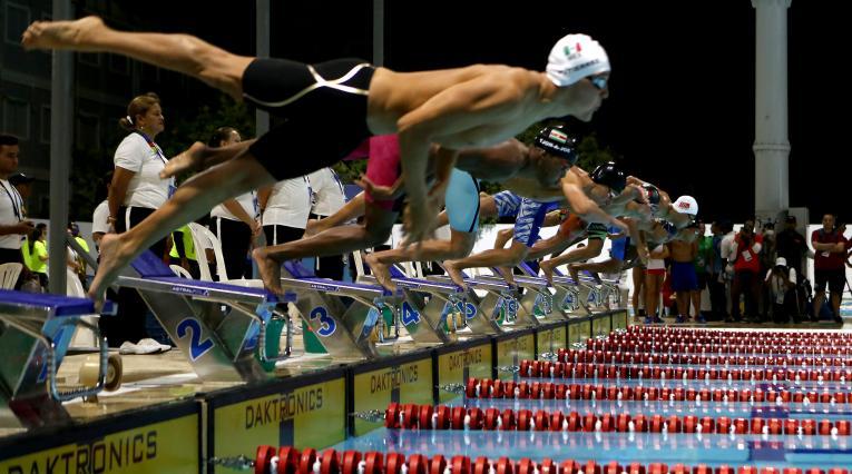 La natación en los Juegos Centroamericanos y del Caribe