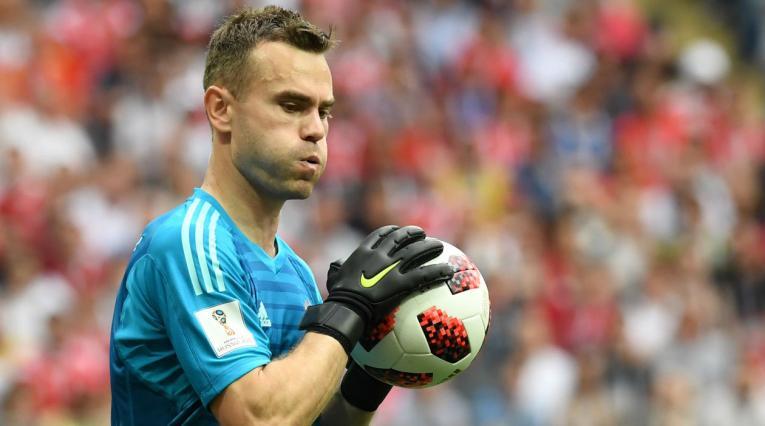 Igor Akinnfeev fue el héroe de Rusia ante España en su propio Mundial