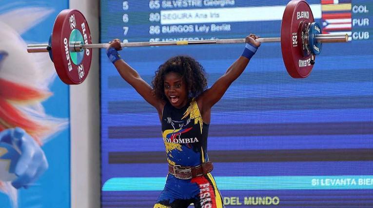 Ana Segura, pesista colombiana