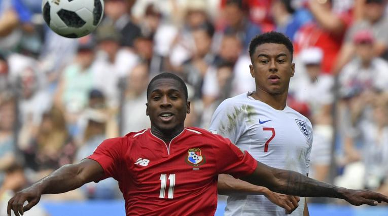 Armando Cooper con la Selección de Panamá en Rusia 2018