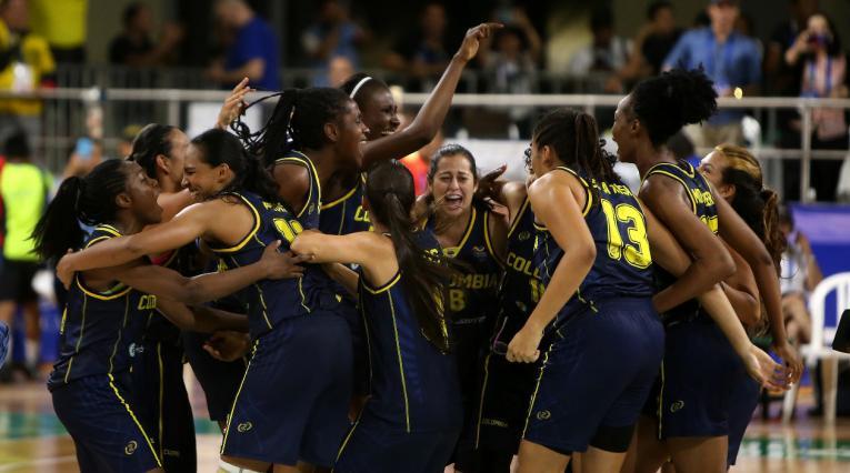 La Selección Colombia de baloncesto femenino derrotó a Cuba y se quedó con el oro en los Centroamericanos