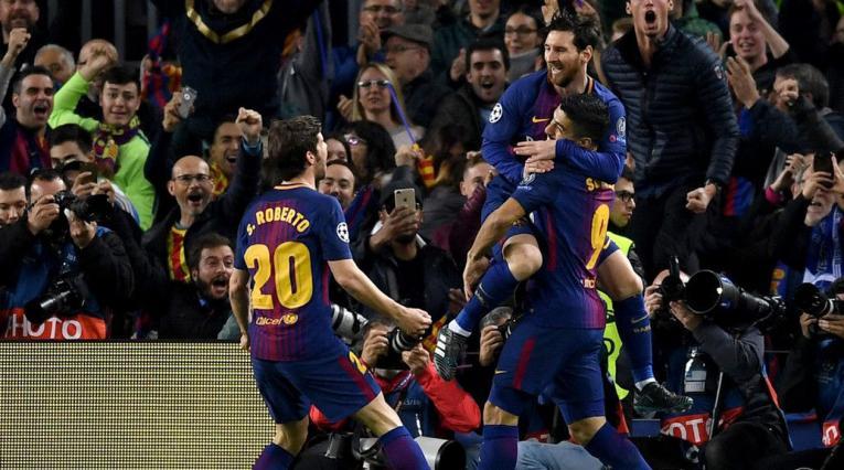 Barcelona Sergi Messi Suárez