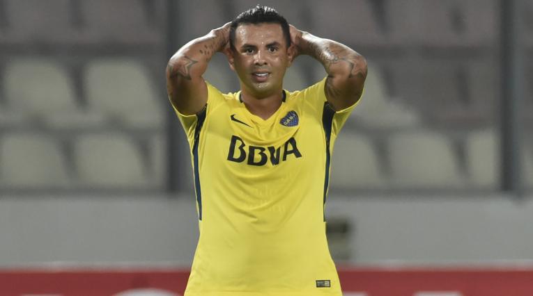 Edwin Cardona está realizando la pretemporada con Boca Juniors